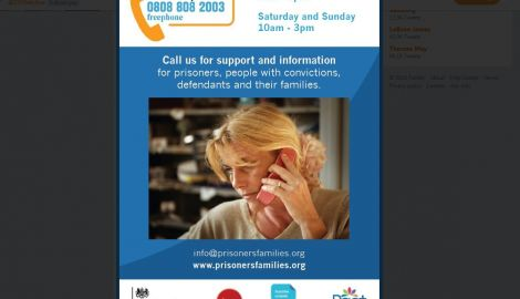 Pact take over the Families Helpline